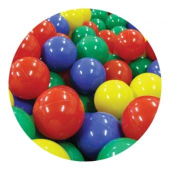 plastové míčky